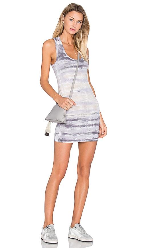 Young, Fabulous & Broke Dax Mini Dress in Gray