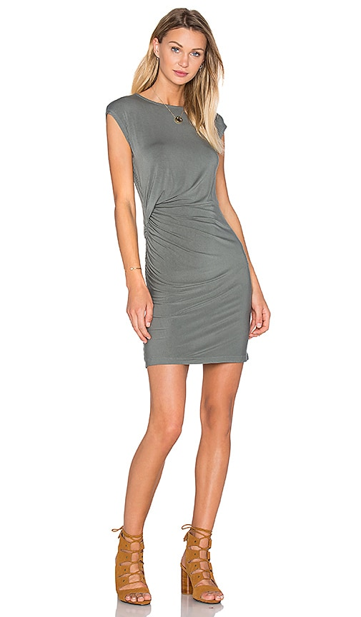 Young, Fabulous & Broke Khloe Mini Dress in Olive