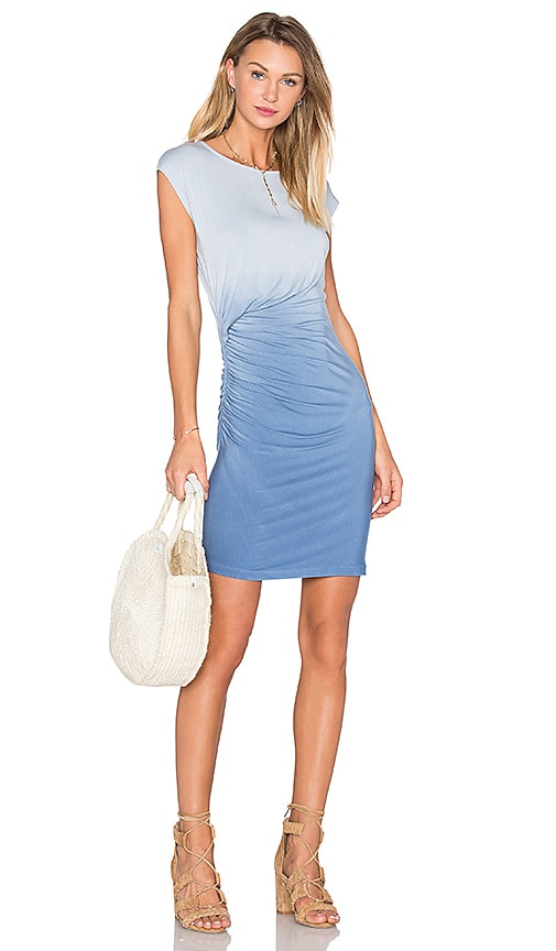 Young, Fabulous & Broke Khloe Mini Dress in Blue