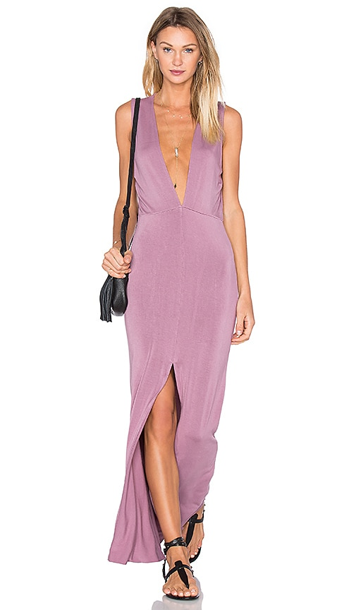 Young, Fabulous & Broke Vanessa Maxi Dress in Mauve
