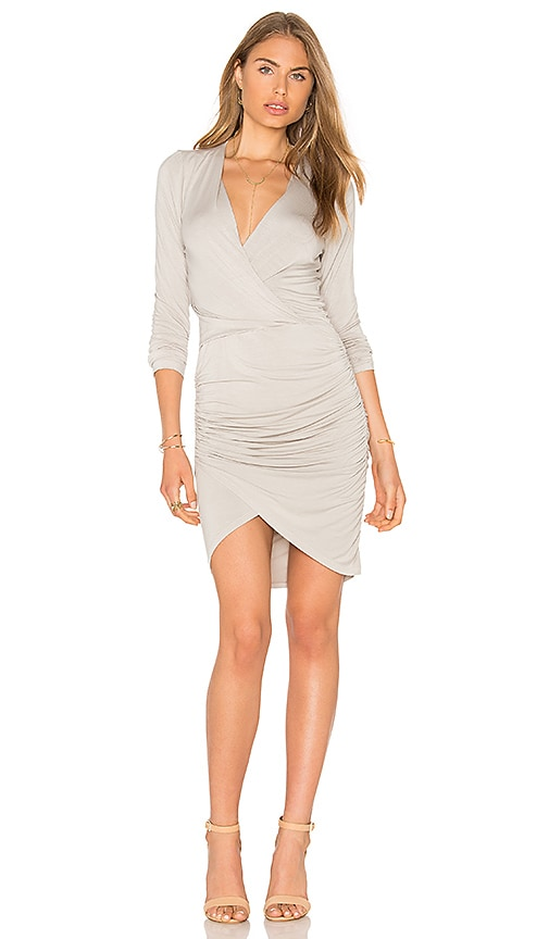 Young, Fabulous & Broke Lex Dress in Light Gray