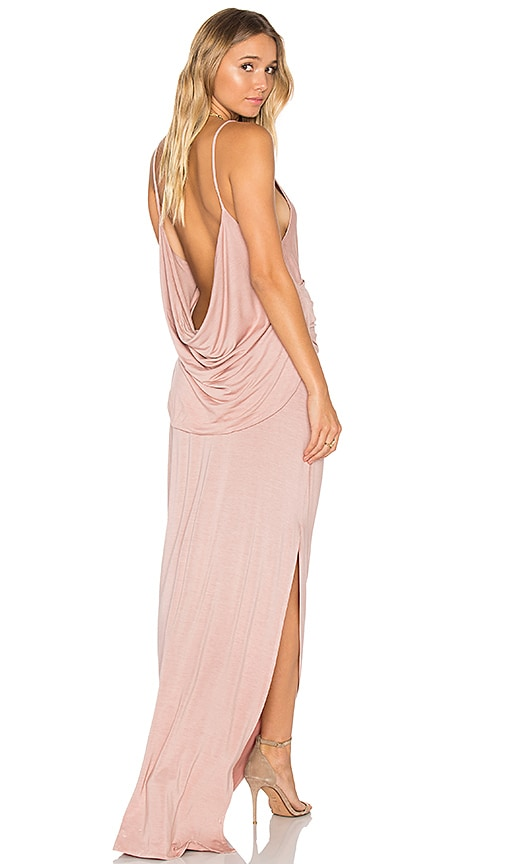 Young, Fabulous & Broke Flint Maxi Dress in Blush
