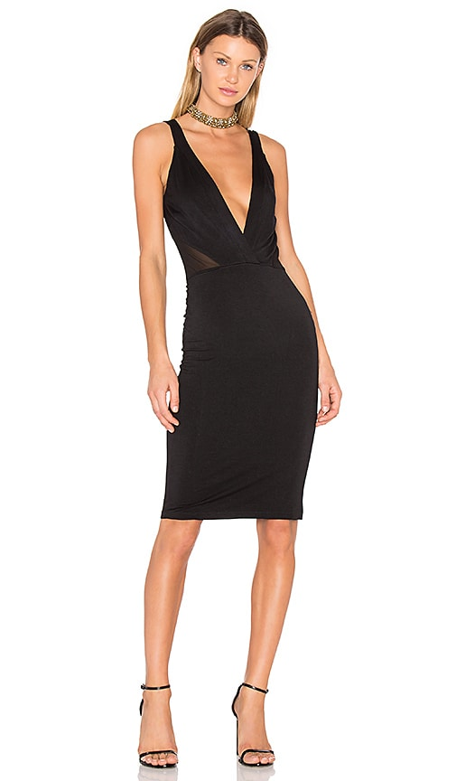 Young, Fabulous & Broke Benny Dress in Black