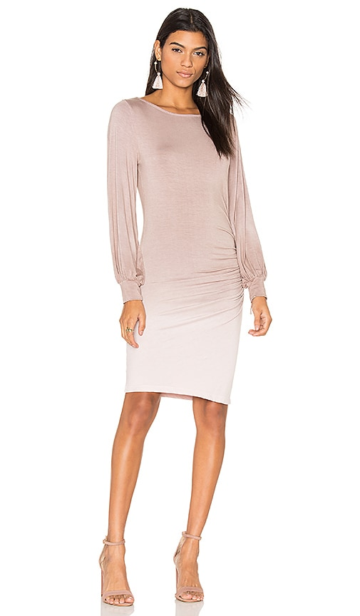 Young, Fabulous & Broke Landon Dress in Taupe