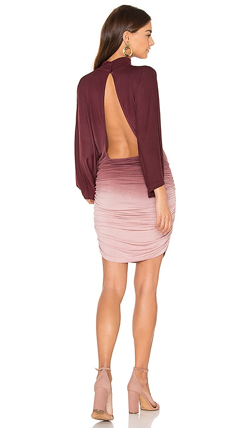 Young, Fabulous & Broke Shiloh Dress in Burgundy