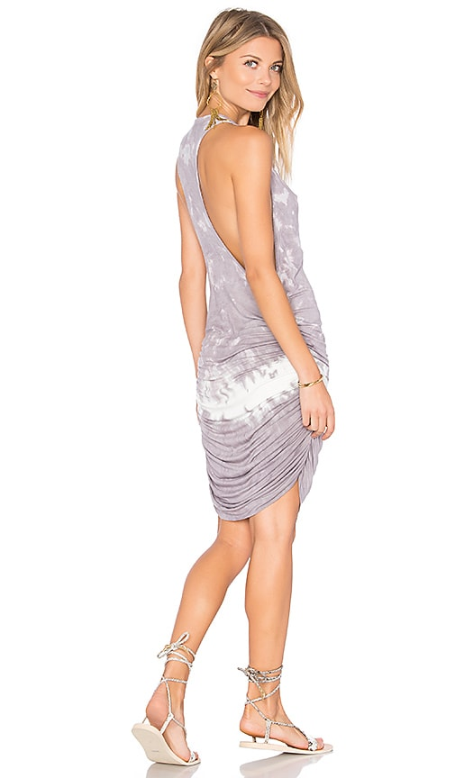 Young, Fabulous & Broke Rocky Dress in Gray