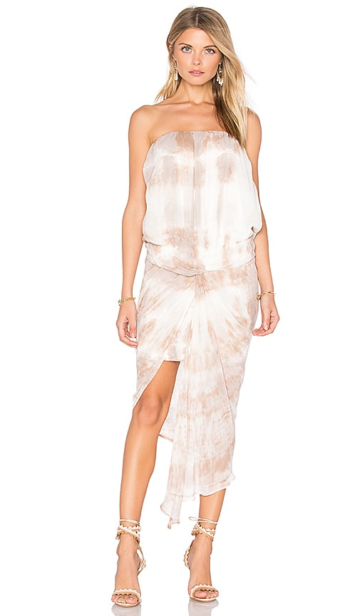 Young, Fabulous & Broke Kauai Dress in Taupe