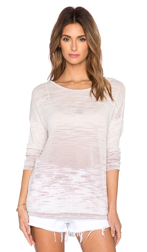 Young, Fabulous & Broke Ludlow Pullover in Mocha Ombre