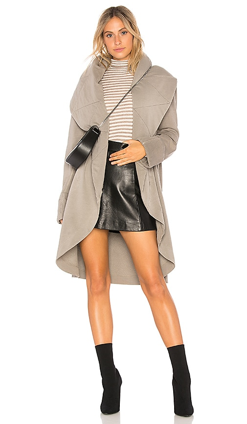 Young, Fabulous & Broke Sandrine Coat in Gray