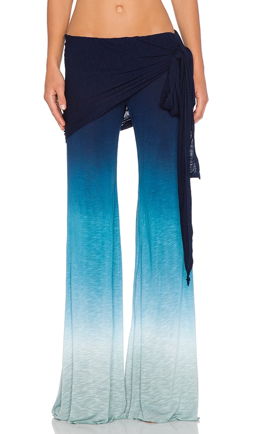 Young, Fabulous & Broke Marina Pant in Blue Ombre