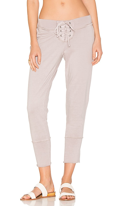 Young, Fabulous & Broke Kelela Crop Pant in Gray