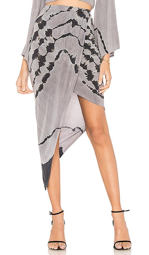 Young, Fabulous & Broke Mercedes Skirt in Gray