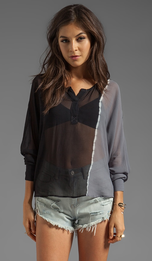 Tina Side Ombre Top