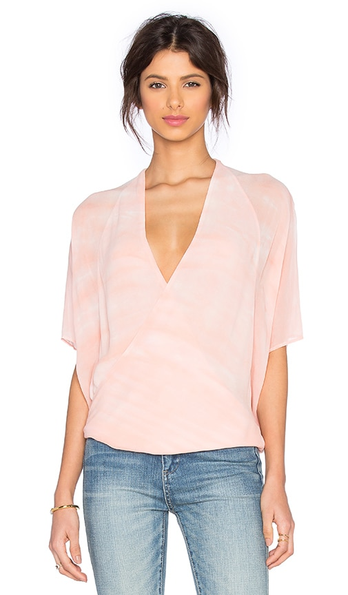 Young, Fabulous & Broke H Top in Coral