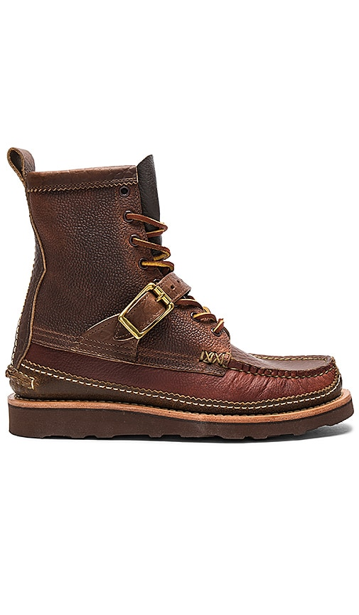 Yuketen Maine Guide DB Boots w/ Strap in Brown