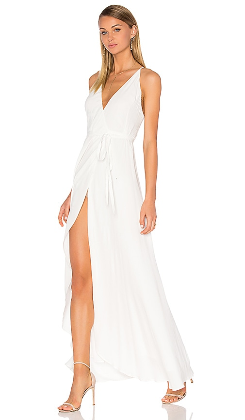 Yumi Kim Rush Hour Maxi Dress in White