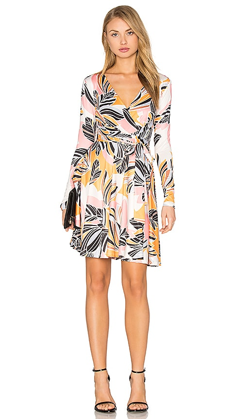 Yumi Kim Double Cross Dress in Retro Bloom Pink