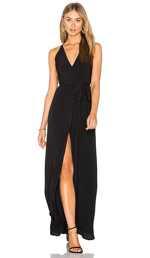 Yumi Kim Rush Hour Maxi Dress in Black
