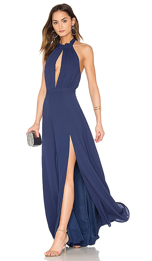 Yumi Kim Starlet Maxi Dress in Blue