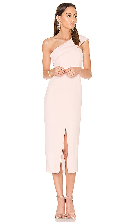 Yumi Kim That Jazz Midi Dress in Blush