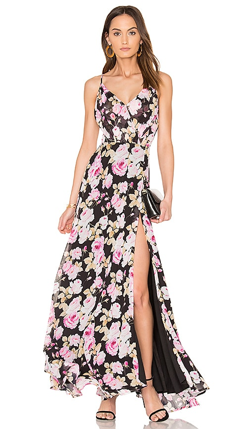 Yumi Kim Kat Maxi Dress in Black