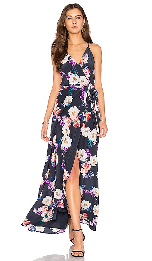 Yumi Kim Rush Hourm Maxi Dress in Navy