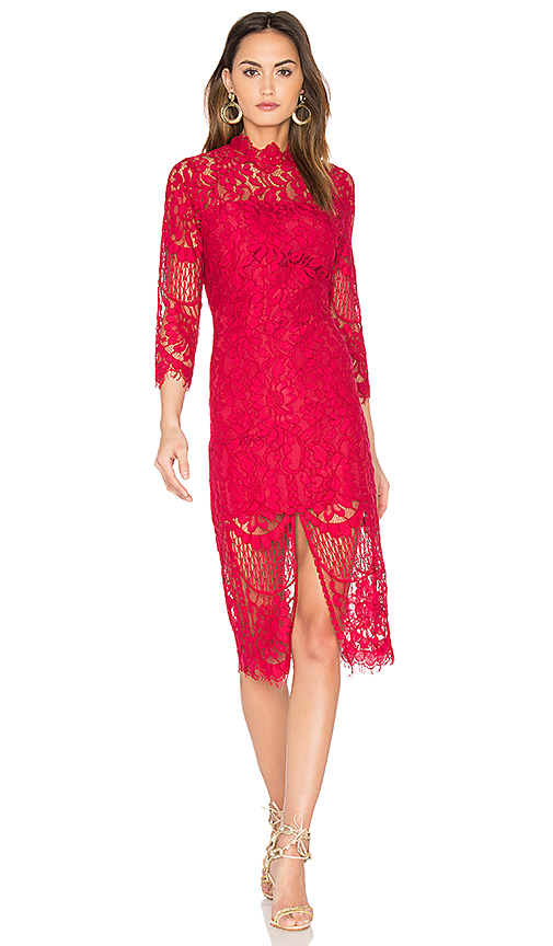 Yumi Kim Leading Lady Dress in Red