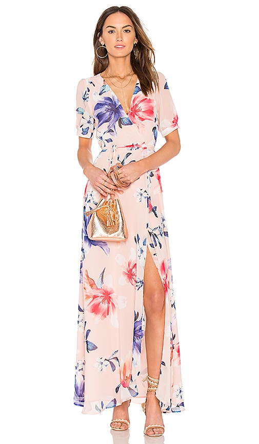 Yumi Kim J'Adore Maxi Dress in Pink