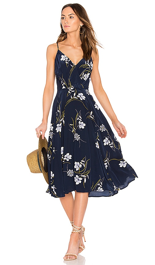 Yumi Kim Fit & Flare Dress in Blue