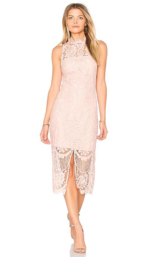 Yumi Kim Get Lucky Dress in Blush