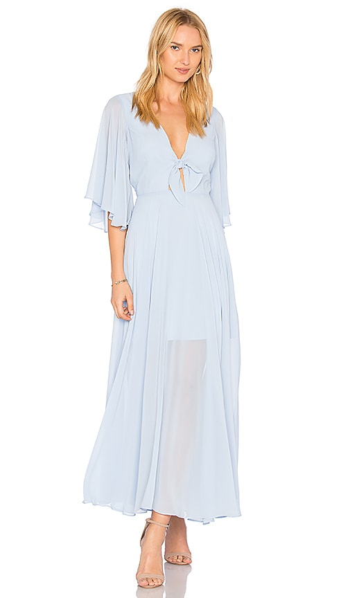 Yumi Kim Always and Forever Maxi Dress in Blue