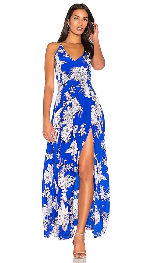 Yumi Kim Jasmine Maxi Dress in Royal