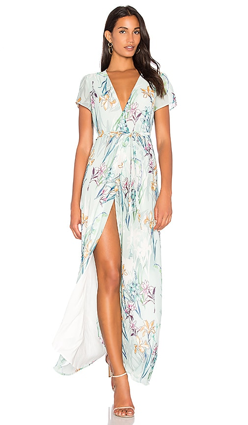 Yumi Kim Spring St. Maxi Dress in Sage
