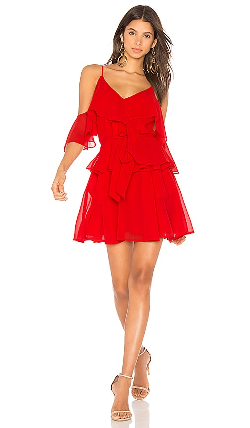 Yumi Kim Addicted to Love Dress in Red