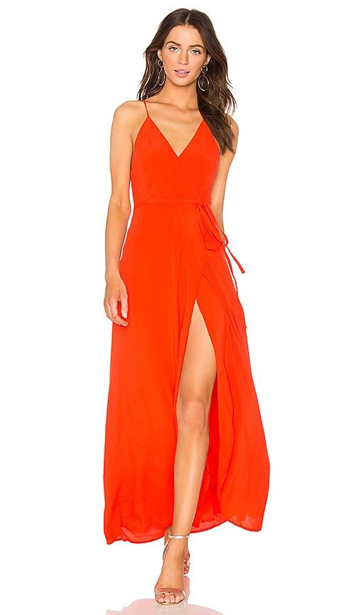 Yumi Kim Rush Hour Maxi Dress in Red