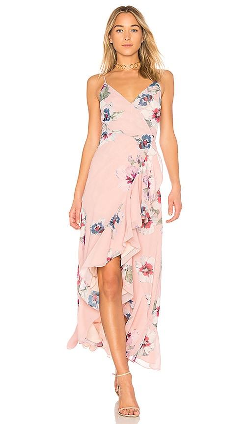 a82451310a Yumi Kim Cross Roads Maxi Dress in Forget Me Not Blush | REVOLVE