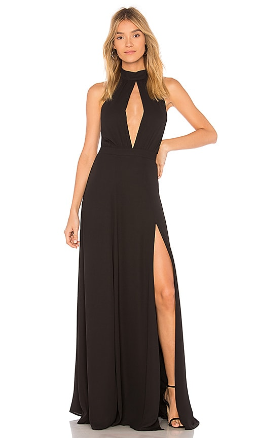 Yumi Kim Starlet Maxi Dress in Black
