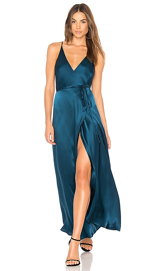 Yumi Kim Rush Hour Maxi Dress in Blue