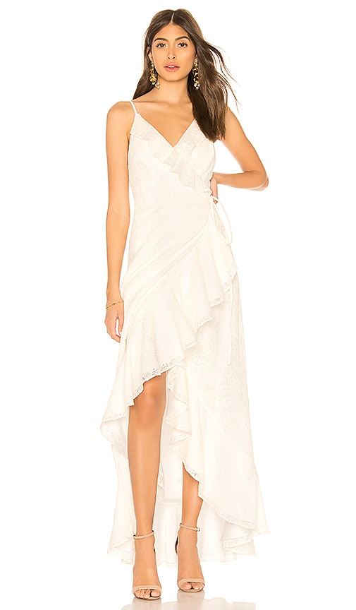 Meadow Maxi Dress in White. - size S (also in L,M,XS) Yumi Kim