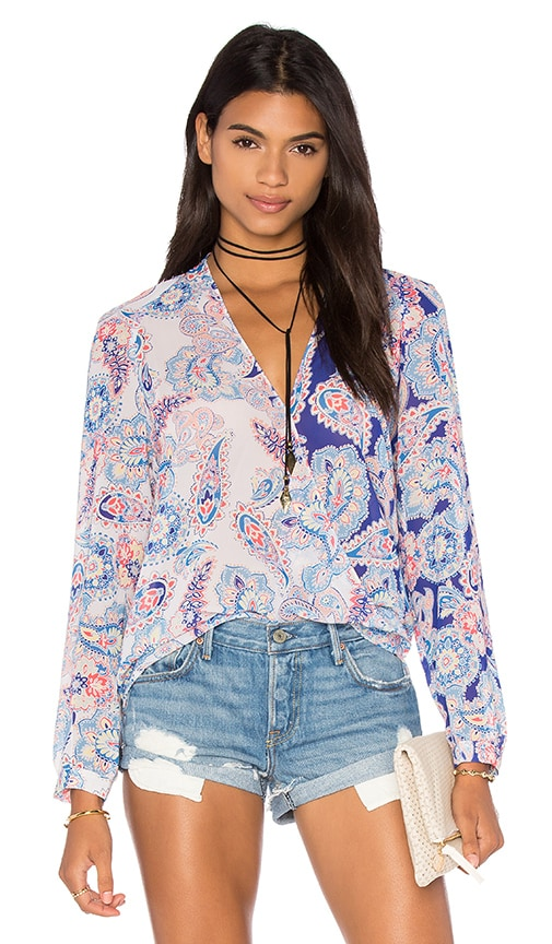 Yumi Kim Lilian Top in Paisley Love