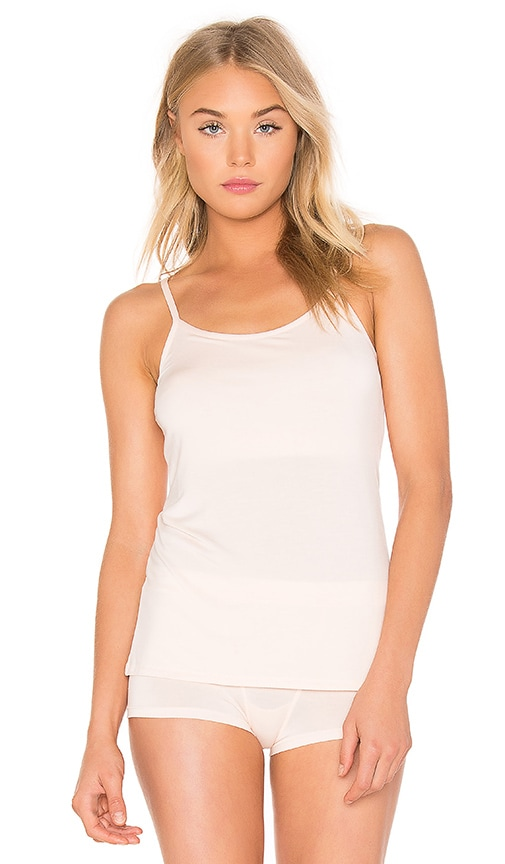 Yummie by Heather Thomson Cassidy Convertible Shelf Cami in Soft Pink
