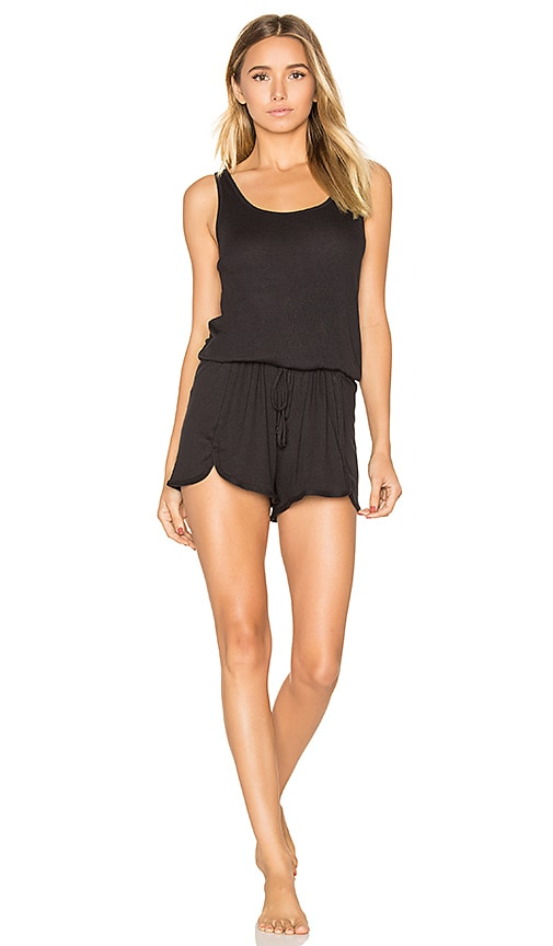 Yummie by Heather Thomson Romper in Black