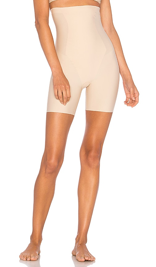 8636f1825259 Yummie Hidden Curves High Waist Thigh Shaper in Frappe | REVOLVE