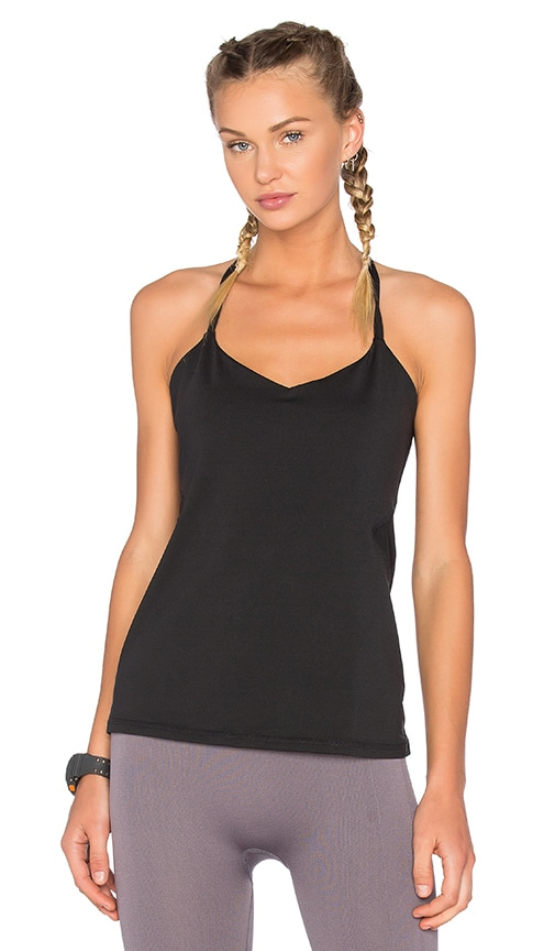 Yummie by Heather Thomson Hillary Strappy Tank in Black