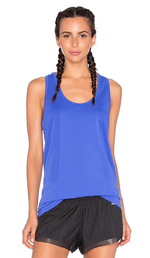 Yummie by Heather Thomson Lelia Racer Tank in Blue