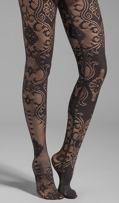 Bernadette Baroque Lace Legwear