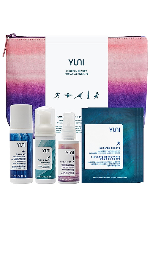 YUNI BEAUTY Sweat, Fresh, Go Set in Beauty: Na