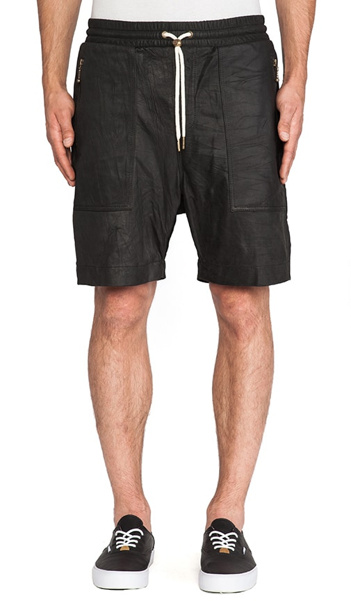 Gabe Leather Short