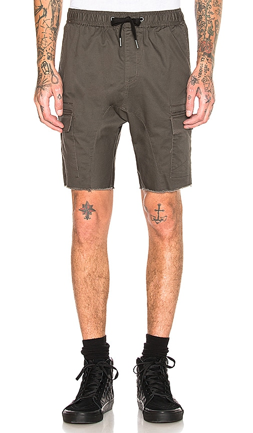 Zanerobe Sureshot Cargo Short in Olive