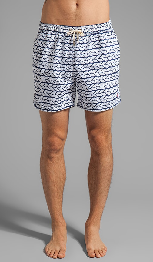 Roped Swim Short